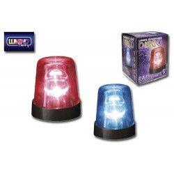 Lampe gyrophare disco 18 cm Déco festive 9569