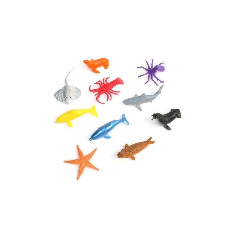 Animal de la mer 5 cm kermesse vendu par 48 Jouets et articles kermesse 13502-LOT