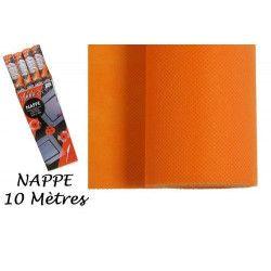Déco festive, Nappe intissée 10 m - Orange, 96111, 8,50€
