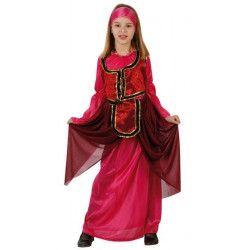Déguisement dame médiévale rose fille 3-4 ans Déguisements 96579ATOSA