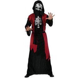 Déguisement seigneur de la mort rouge homme taille M-L Déguisements 96735