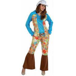 Déguisements, Deguisement femme Hippie Peace and Love taille M/L, 97007, 25,50€