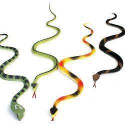 Animal PVC serpent 34 cm kermesse vendu par 72 Jouets et articles kermesse 13601-LOT