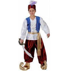 Déguisements, Déguisement prince arabe enfant 7-9 ans, 98597, 26,50€