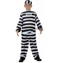 Déguisements, Déguisement de Prisonnier 5-6 ans, 98639, 12,90€