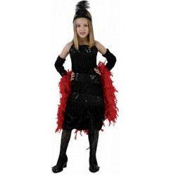 Déguisement charleston noir fille 4-6 ans Déguisements 98671