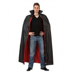 Déguisements, Cape de vampire adulte 143 cm, 98795, 13,90€