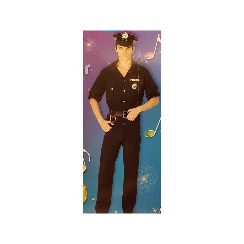 Déguisement policier homme taille XL Déguisements 9896POLICE