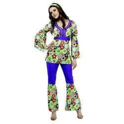 Déguisement hippie femme taille M-L Déguisements 9897HIPPIE