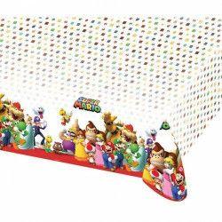 Nappe plastique Super Mario 120x180 cm Déco festive 9901539