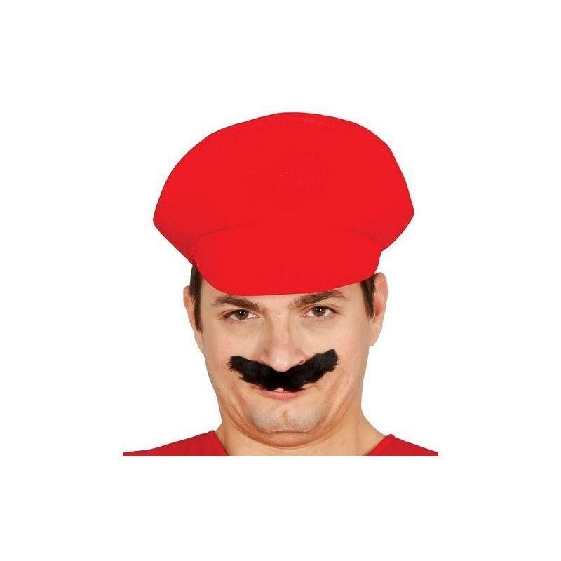 Casquette plombier rouge Accessoires de fête 13674