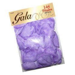 Déco festive, Pétales de rose en tissu violet, 99181, 2,40€