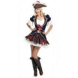 Déguisements, Déguisement capitaine pirate femme taille S, 996170, 54,90€