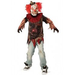 Déguisements, Déguisement clown fou garçon 10-12 ans, 996977, 29,90€