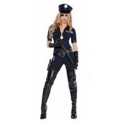 Déguisements, Déguisement agent de police sexy femme taille S, 997679, 49,90€