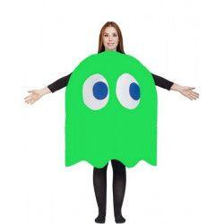 Déguisement humoristique fantôme vert bouteille Pac adulte Déguisements 99906