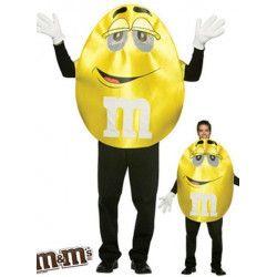 Déguisement boule de chocolat jaune adulte Déguisements 99908