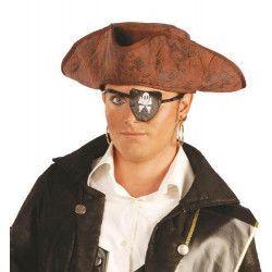Tricorne pirate adulte Accessoires de fête 13902