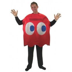 Déguisement humoristique fantôme rouge Pac homme Déguisements 99929