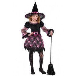 Déguisement sorcière glamour fille 4-6 ans Déguisements 999681