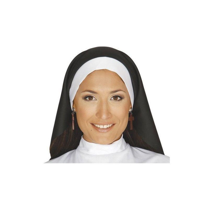 Coiffe religieuse adulte Accessoires de fête 13931