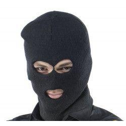 Cagoule noire adulte Accessoires de fête AC0246