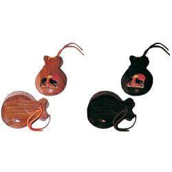 Castagnettes en bois Accessoires de fête AC0280