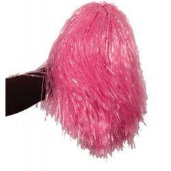 Accessoires de fête, Pom Pom girl rose avec poignée, AC1310-ROSE, 2,65€