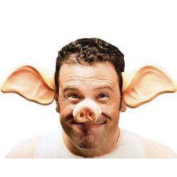 Nez de cochon en plastique Accessoires de fête AC5142