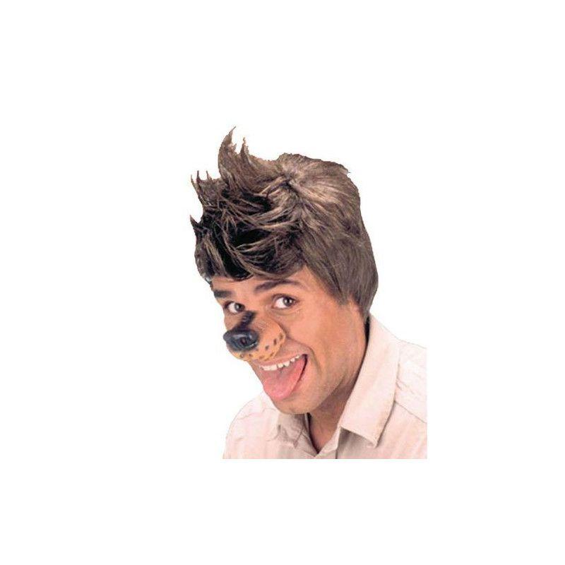 Nez de chien en latex Accessoires de fête AC5146