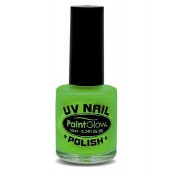 Vernis à ongles vert néon UV 12 ml Accessoires de fête AJ1A02
