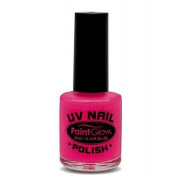 Vernis à ongles rose néon UV 12 ml Accessoires de fête AJ1A04