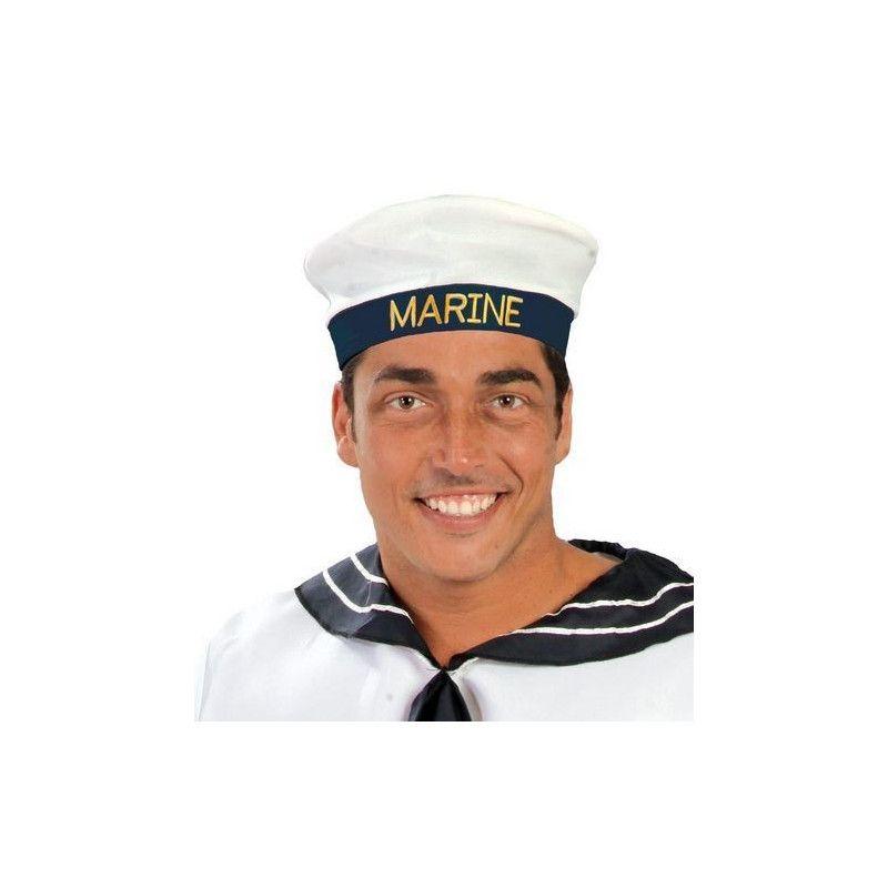 Bérêt de marin adulte Accessoires de fête 13984