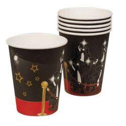 Set de 6 gobelets VIP jetables Déco festive B44161