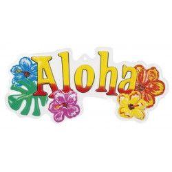 Décoration murale Aloha PVC Déco festive B52515