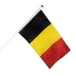 Accessoires de fête, Drapeau Belgique 90x150cm, B61914, 5,90€