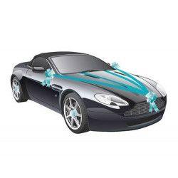 Kit de voiture 5 pièces turquoise mariage Déco festive 1401-12