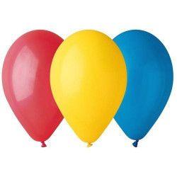 Sachet 12 ballons standard 30 cm multicolores Déco festive BA19105MULTI