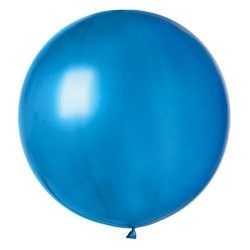 Sachet 1 ballon baudruche géant 80 cm bleu roi Déco festive BA19813-BLEUROI