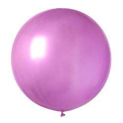 Sachet 1 ballon baudruche géant 80 cm fuchsia Déco festive BA19813-FUCHSIA