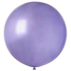 Sachet 1 ballon baudruche géant 80 cm lavande Déco festive BA19813-LAVANDE