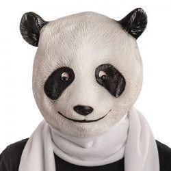 Masque de panda en latex Accessoires de fête 1404