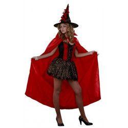 Déguisement sorcière rouge sexy femme Déguisements BT03893