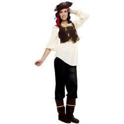 Déguisements, Déguisement femme pirate XL, BT24568, 22,90€