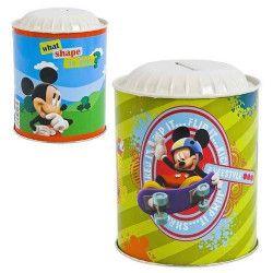 Déco festive, Tirelire métal Mickey, BY14010160208, 1,90€