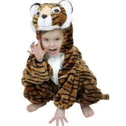 Déguisements, Déguisement tigre peluche enfant 3 ans, C1017104, 29,90€