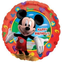 Ballon Happy Birthday Mickey's Clubhouse  080518140559
