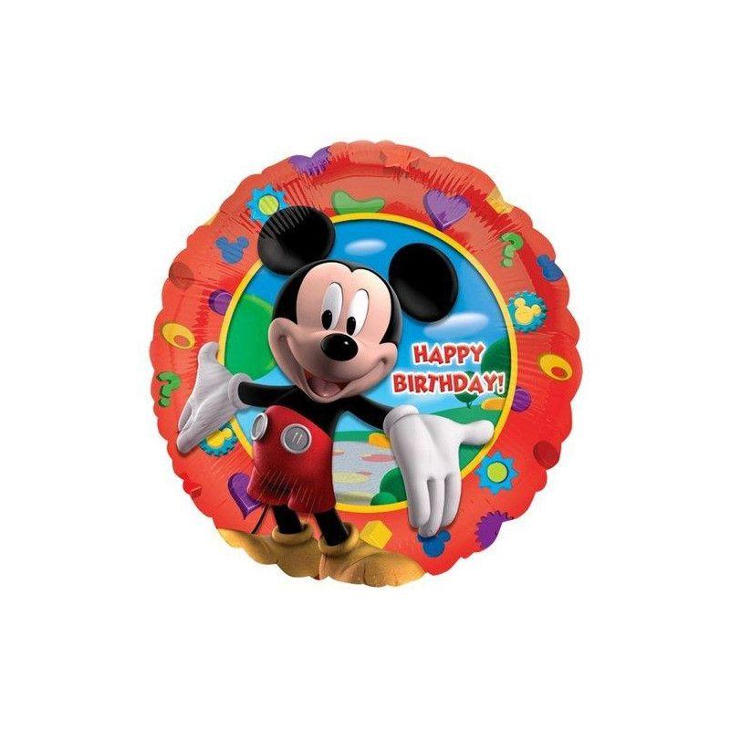 Ballon Happy Birthday Mickey's Clubhouse™ Déco festive 1405501