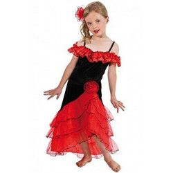 Déguisements, Déguisement espagnole fille 7-9 ans, C4028128, 25,90€