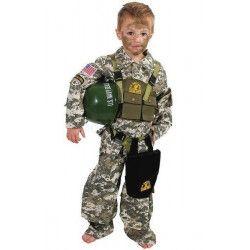 Déguisements, Déguisement militaire US Navy SEAL enfant 4 ans, C4083116, 29,90€